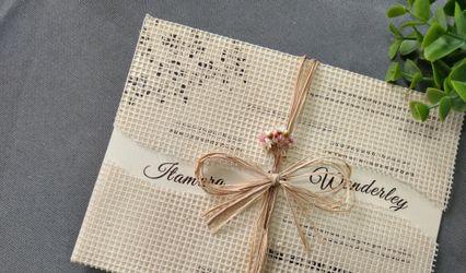 Convites de Casamento Deluxe 1
