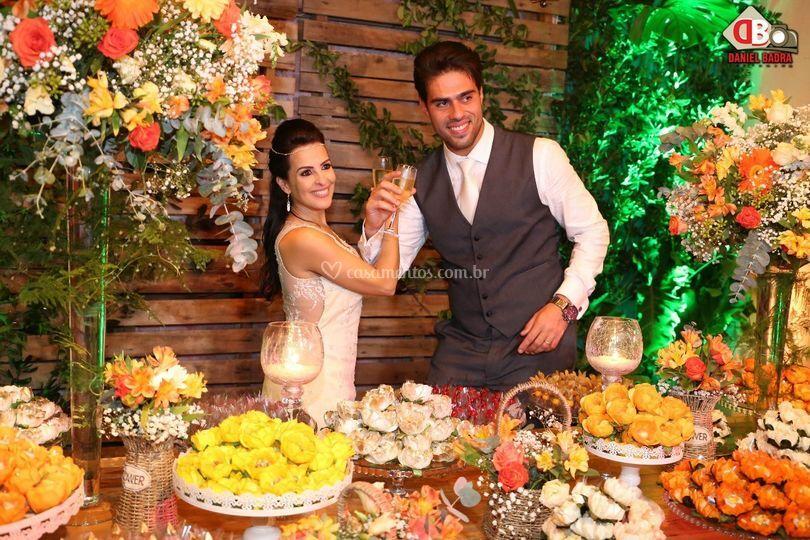 Dana e Gabriel