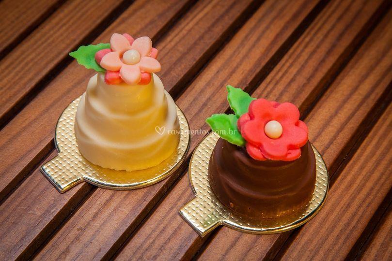 MiniBolo de Chocolate Recheado