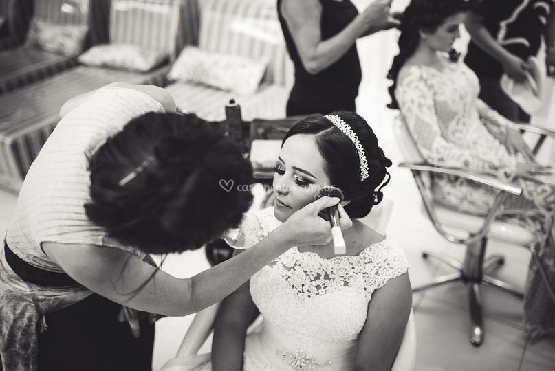 Making of dia da noiva