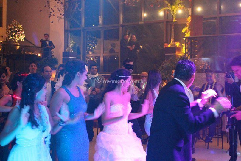 Dançando!