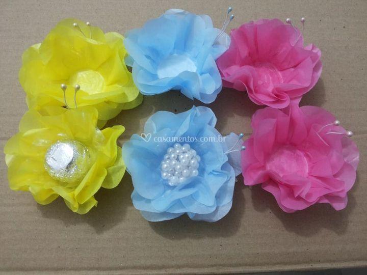 Forminhas de papel seda