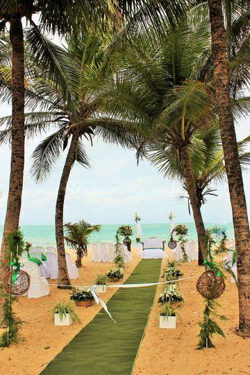 Beira mar mini wedding
