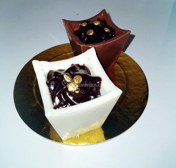 Chocolateria doce fino frutas