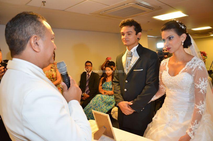 Celebrante do casamento