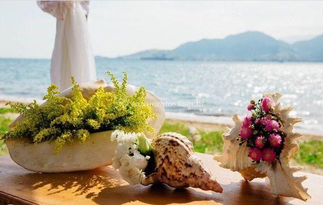 Casamento com vista maravilhosa