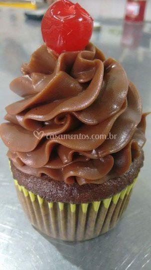 Cup cake chocolate