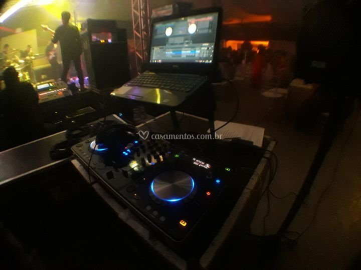 Equipamentos do dj