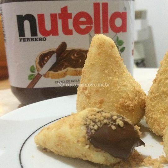 Coxinha com Nutella