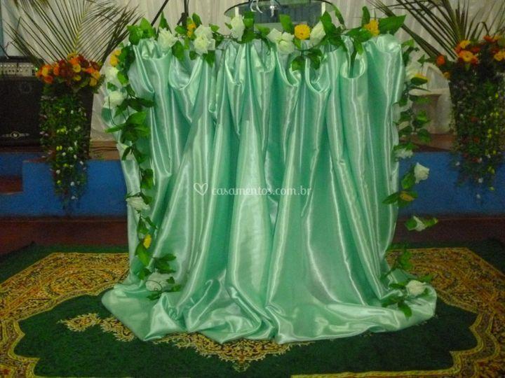 Mesa da cerimonia