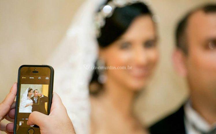 Tire fotos pelo celular