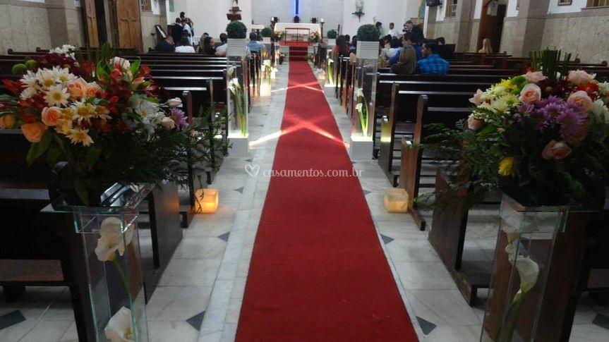 Decoração de igrejas