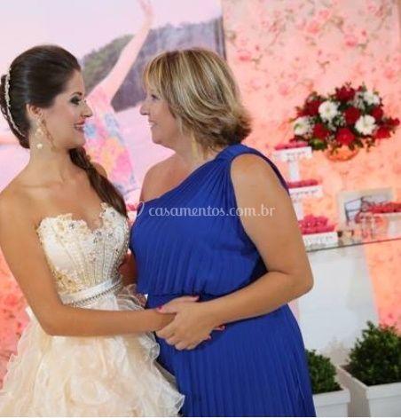 A noiva e sua mãe