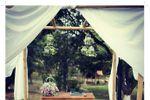 Casamento ao ar livre de Sonhos e Can��es Casamentos