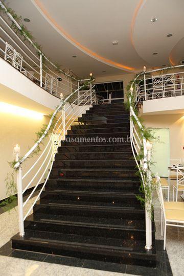 Escada central