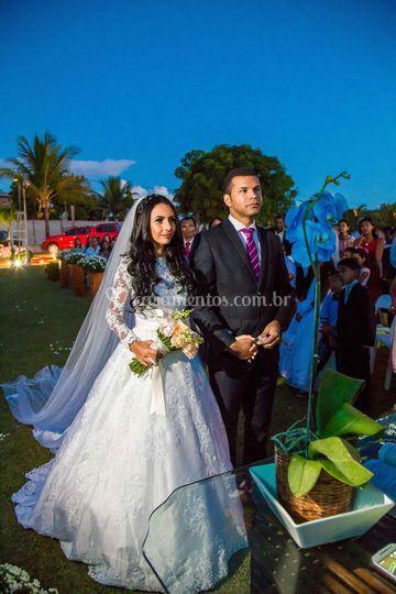 Casamento de Gabriela e Amaury