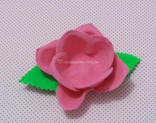 Forminha de eva rosa