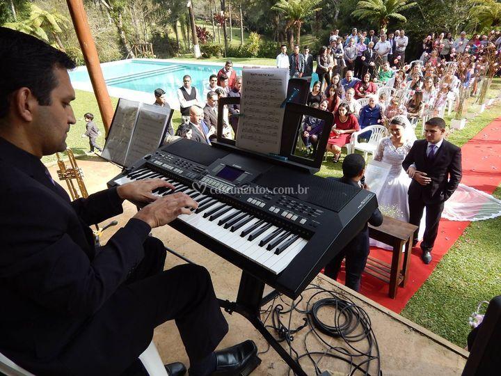 Cerimônia Piano e Clarim