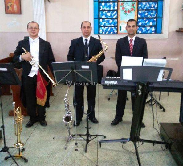 Trio Piano,sax e clarim