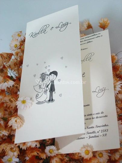 Convite Casamento 0105