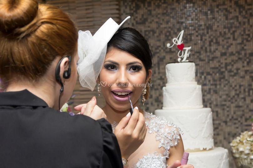 Atenção especial aos noivos!
