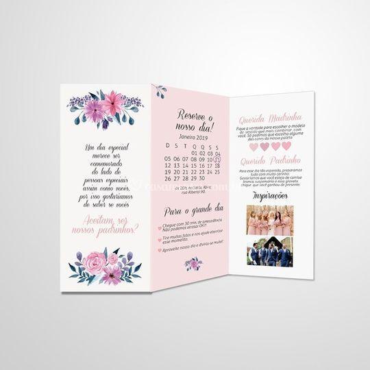Convite Manual padrinhos