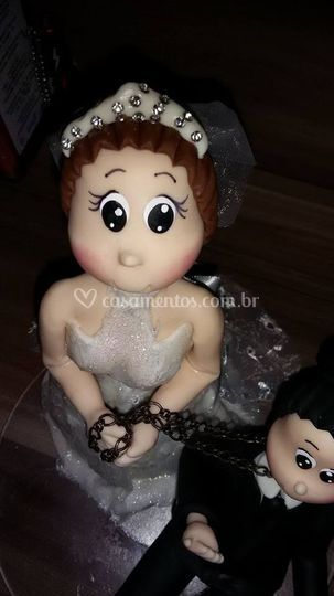 Topo de bolo cliente Jessica