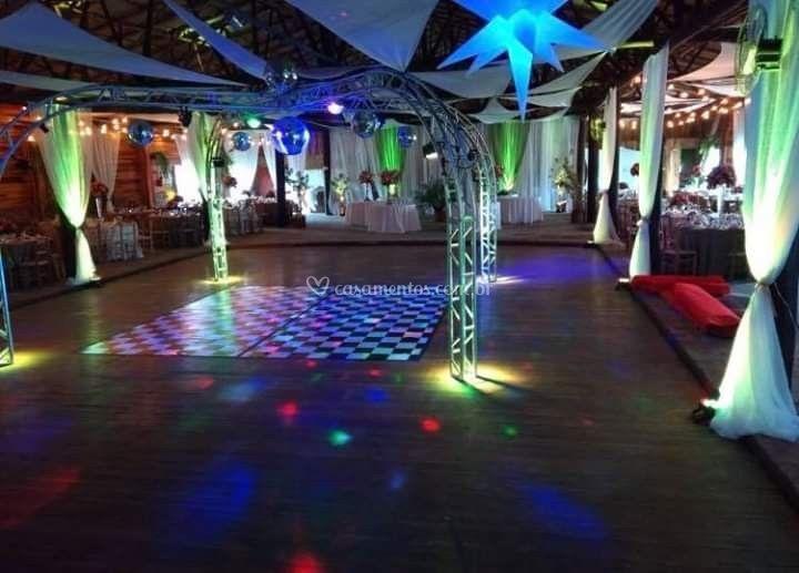 Salão para até 400 convidados