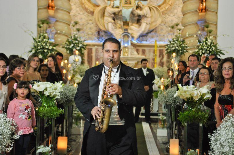 Cortejo de saxofone