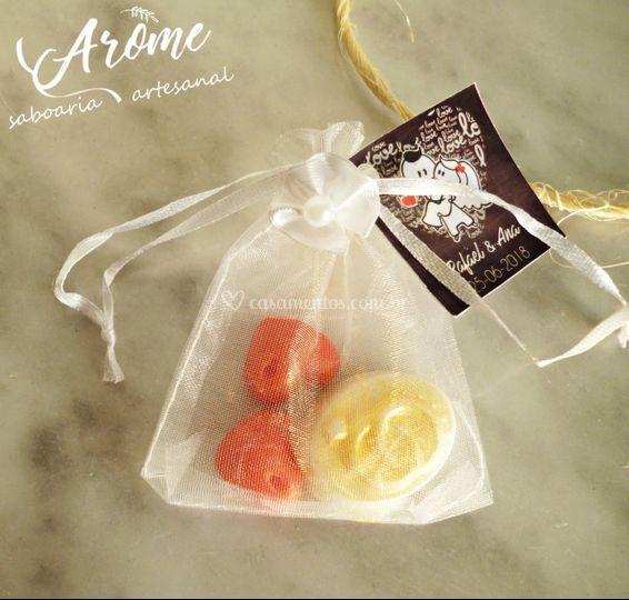 Mini sabonetes