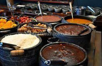Variedade de pratos e cardápios