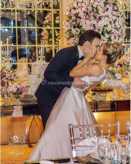 Romantismo na decor casamento