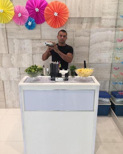 Viana's bartender