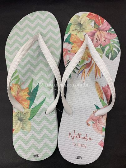 Chinelo Floral 2