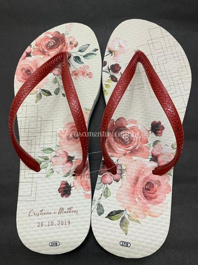 Chinelo floral 3