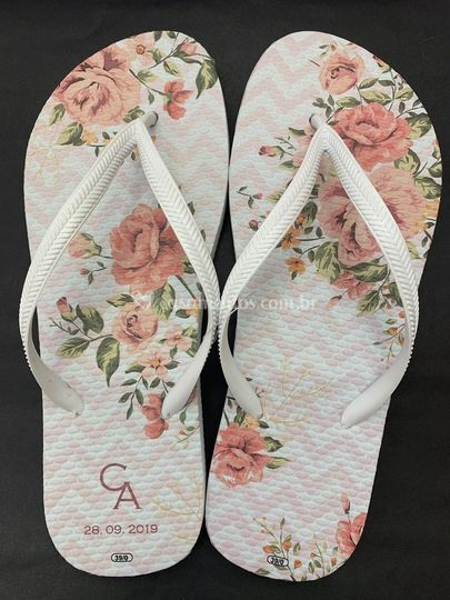 Chinelo floral 4