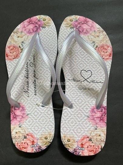 Chinelo floral 5
