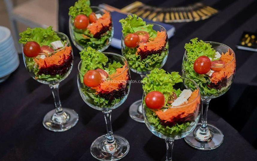 Salada primaveral