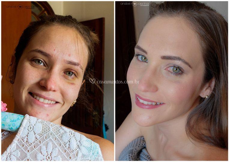 Maquiagem da noive (incluído)