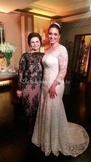 Marlise Dumke e sua noiva