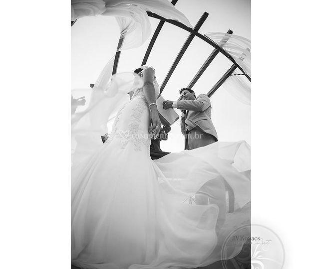 Tecidos leves|Casamento Praia