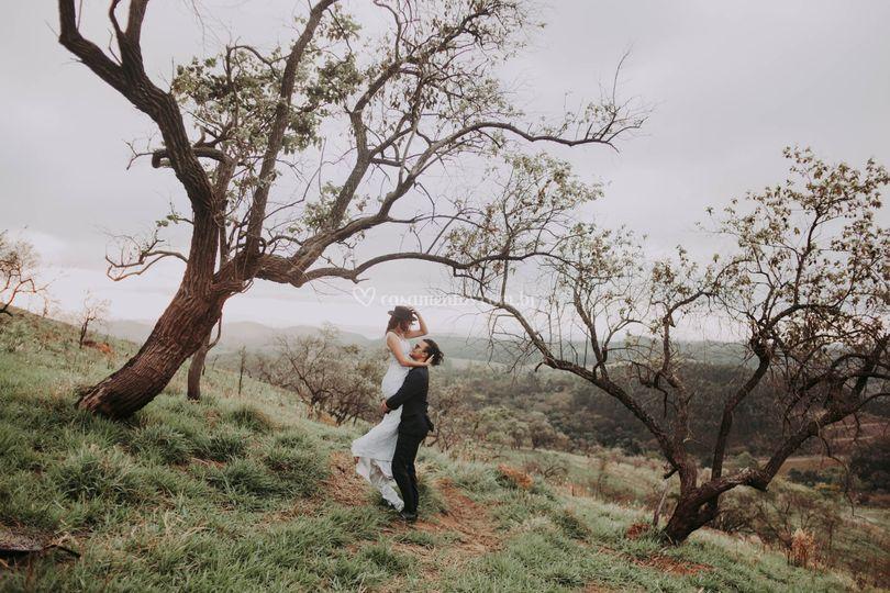 Pré wedding na montanha