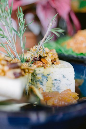 Gorgonzola e nuts caramelizado