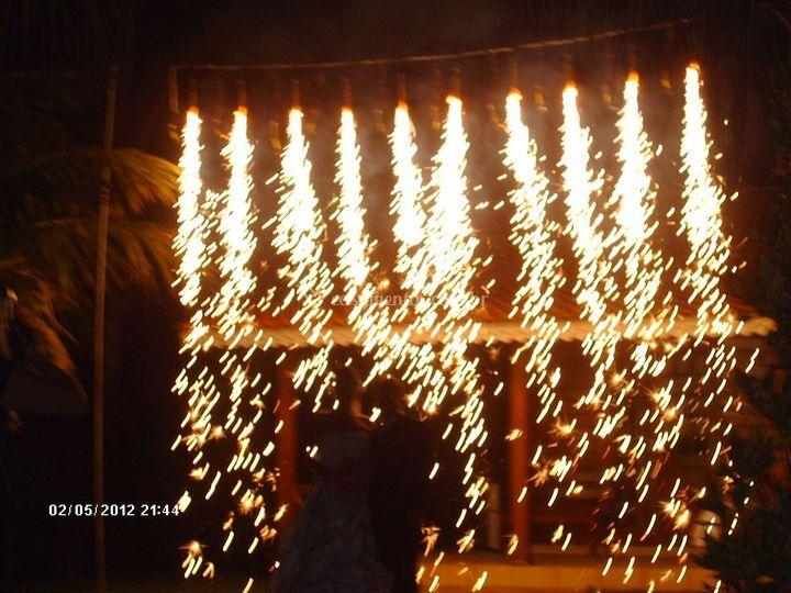 Cascata de fogos