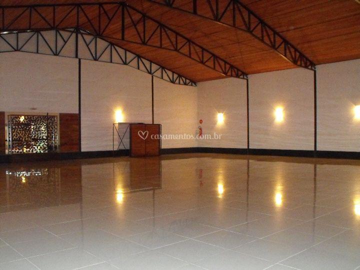 Salão Principal sem decoração