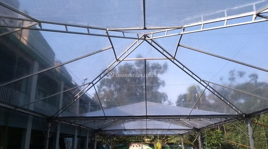 Tenda-piramidal - 10X30=300m²
