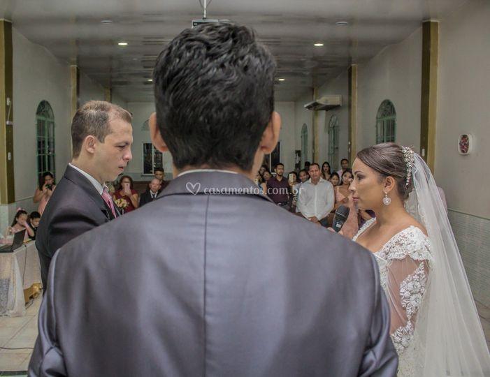 Os votos dos noivos
