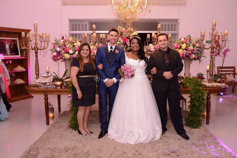 Casamento Jéssica e André