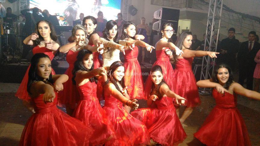 Dança das amigas - 15 anos
