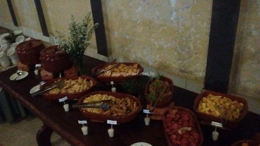 Buffet Flor de Sal.